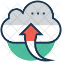 Uploading Cloud Upload Icon