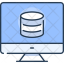 Uploading Data Uploading Database Icon