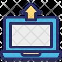 Computer Data Transfer Laptop Icon