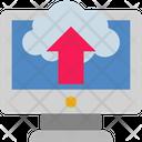 Cloud Computing Uploading Icon