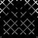 Up Arrow Uploading Arrow Icon