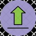 Uploading Up Arrow Icon