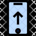 Uploading Uploading Concept Cloud Technology Icon
