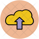 Uploading Cloud Computing Icon