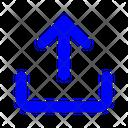 Uploading Up Arrow Upload Icon