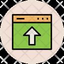 Uploading Arrow Up Icon