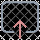 Up Arrow Uploading Icon