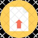 Uploading Upload Button Icon