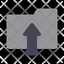 Uploading Upload Folder Icon