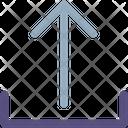 Uploading Arrow Icon
