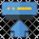 Uploading Big Data Icon