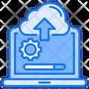 Uploading Process Icon