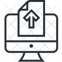 Uploud Data Icon