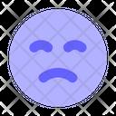 Upset Emoji Sad Icon