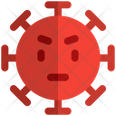 Upset Coronavirus Emoji Coronavirus Icon