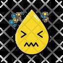 Upset Emoticon Emoji Icon