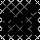 Uptrend Bullish Graph Icon
