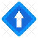 Upward Arrow Road Arrow Direction Arrow Icon