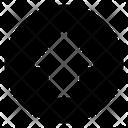 Upward Arrow Directional Arrow Arrowhead Icon