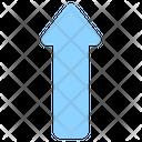 Upward Arrow Arrowhead Arrow Icon
