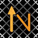 Upward Arrow Directional Arrow Navigational Arrow Icon