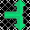 Upward Arrows Downward Arrows Symbols Icon