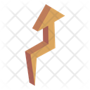 Upward Curved Arrow Icon