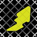 Upward Right Arrow Directional Arrow Navigational Arrow Icon