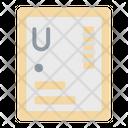 Uranium Nuclear Science Icon