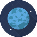 Uranus Space Galaxy Icon