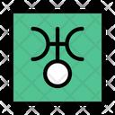 Uranus Astrology Astronomy Icon