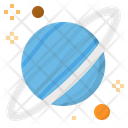 Uranus Planet Solar Icon