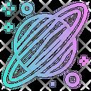 Uranus Planet Solar Icon