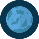 Uranus Planet Space Icon