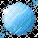 Uranus Planet Space Icon