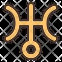 Uranus Star Zodiac Icon