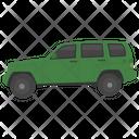 Urban Automotive Luxury Vehicle Transport Icon