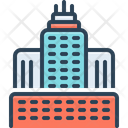 Urban Buildings Towers Icon