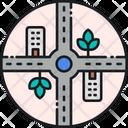 Urban Planning Planning City Icon