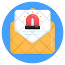 Emergency Mail Urgent Mail Important Mail Icon