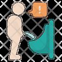Urination Problem Icon