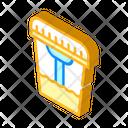Urine Analysis Isometric Icon