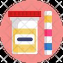 Sample Test Urine Sample Healthcare Icon