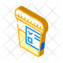 Urine Analysis Isometric Icon