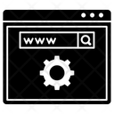 Web Domain Www Url Optimization Icon
