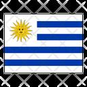 Uruguay Flag Flags Icon