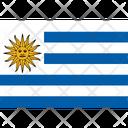 Flag Country Uruguay Icon