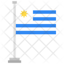 Uruguay Country National Icon