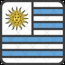 Uruguay Country Flag Icon