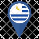 Uruguay Flag Icon